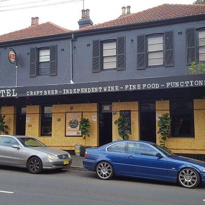 Facade, from Darling Street