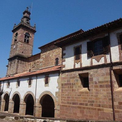 Iglesia San Juan Bautista, Arizkun (Baztán, Communauté forale de Navarre), Espagne.