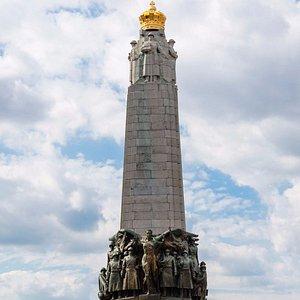 Monument A la Gloire de l'Infanterie Belge, ноябрь 2016 года...
