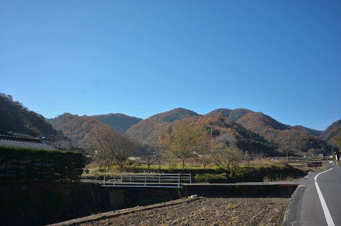 麓から見た高滝山