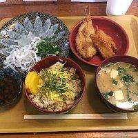 Blow fish Gozen and Hiresake