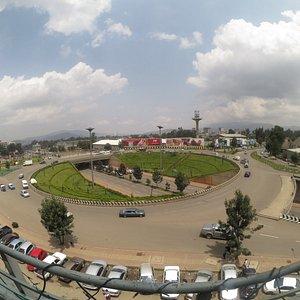 Addis Abeba Pushkin Place Sarbet Area