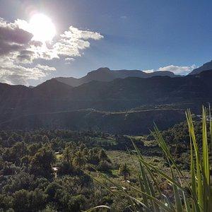 View from Mirador de El Ingenio near Santa Lucia, Gran Canaria.