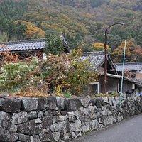菅浦集落/石積みが印象的な集落です