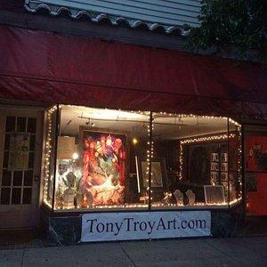 Tony Troy Art at night