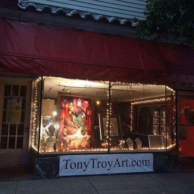 Tony Troy Art at night