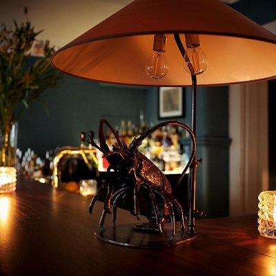 Die einzigartige und weltberühmte Hummer-Lampe