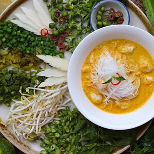 Crab meat curry at BrassWok Thai cooking Class near Laguna Phuket
