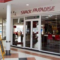 Snack Paradise in het winkelcentrum het Paradijs