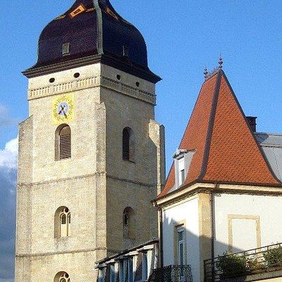Clocher de l'église de Pontarlier