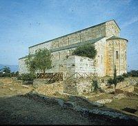 La cathédrale de Mariana, abside et façade sud