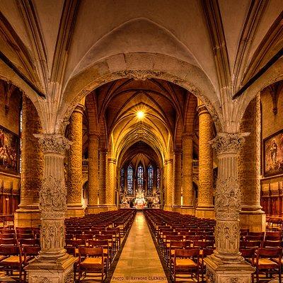 Intérieur de la Cathédrale Notre-Dame de Luxembourg (Photo R Clement)