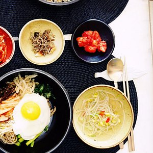 Bibimbap & Galbi-gui ( Course B) - Perfectly harmonized meal!