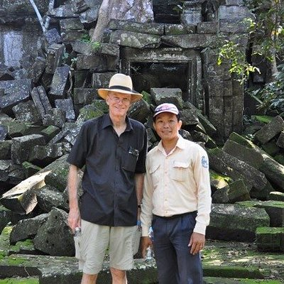Amazing trip in Angkor with Huat as a professional guide