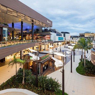 Vista aérea de la Plaza Principal del centro comercial
