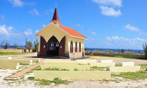 cute church with pretty views!