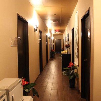 massage well massage pro hallway