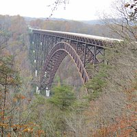 New River Gorge Bridge from VC