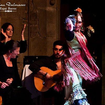 Palau Dalmases - Flamenco show / Espectáculo flamenco