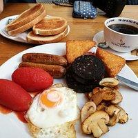 Large breakfast