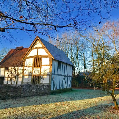 Various buildings and views at Avoncroft museum - December 2016.