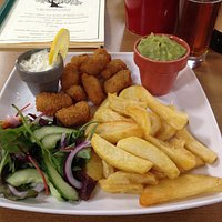 Breaded Whitby Scampi