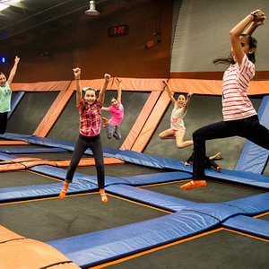 Fun place for kids and adults of all ages. These girls came to celebrate their birthday.