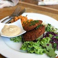 Potpourri Vegetarian Cafe in Dunedin was great!