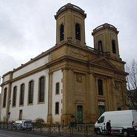 """L""""église latéral gauche"""