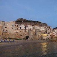 Porta Pescara, вид с моря