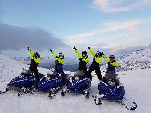 Our popular snowmobile tour from Akureyri.