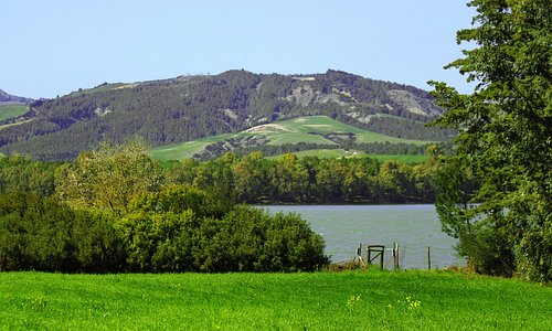 Vista sulla diga