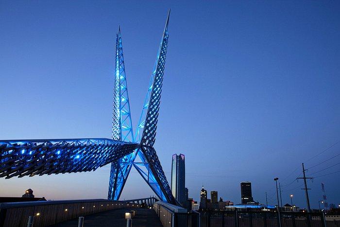 Skydance Bridge in Oklahoma City Photo by: Lori Duckworth