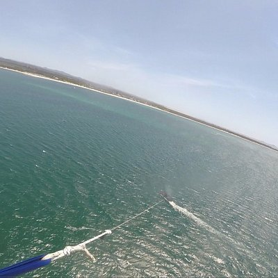 Go Pro view of the boat during the flight