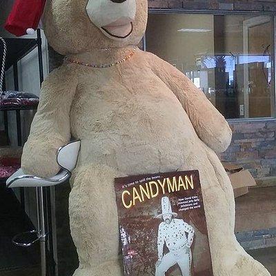 Huge bear in store.