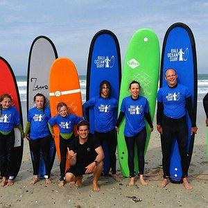 cours de surf collectif Benodet