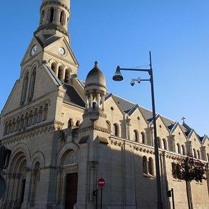 L'église, latéral droit