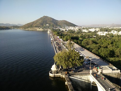 View of Fateh Sagar Lake