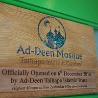 Highest mosque in New Zealand standing at 440m above sea level