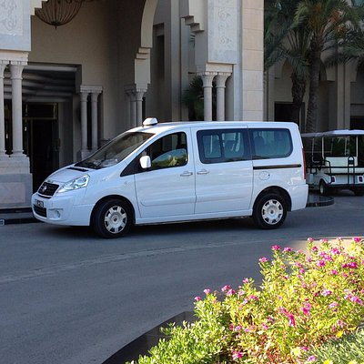 Van from Tunisia airport Transfers Fleet