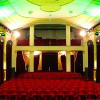 La platea del Teatro Verdi vista dal palco
