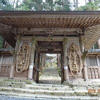 百済寺山門の大わらじ