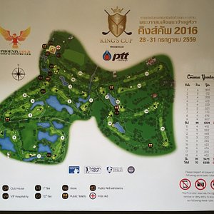 Great golf course nearby Pattaya Very good caddies Normally a choice of 3 courses but Lakes in u