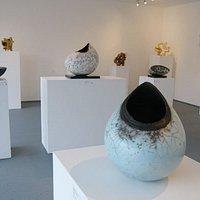 Exhibition of sculptural ceramics, 2012.