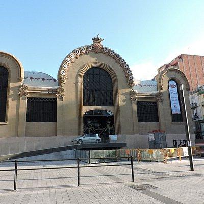Mercado Central de Tarragona, Tarragona, España.