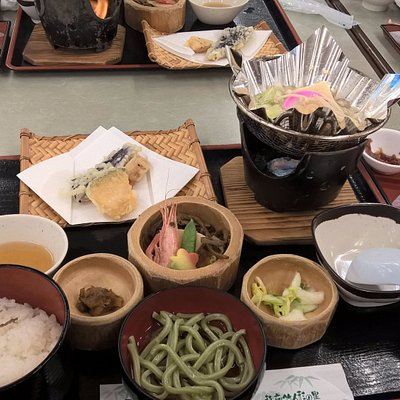 lunch set upstairs bamboo soba