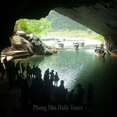 The mouth of Phong Nha Cave - © Phong Nha Daily Tours