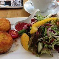 Fish cakes packed with fresh salmon