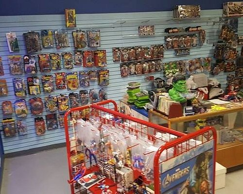 Front of the store but all the empty spots are filled now