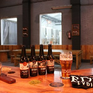 Tasting Session at Edge Brewing